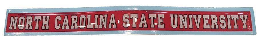 Nc State University Strip Decal