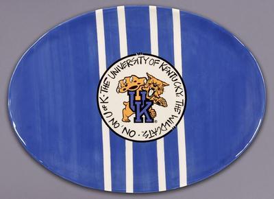 Kentucky Mascot Platter