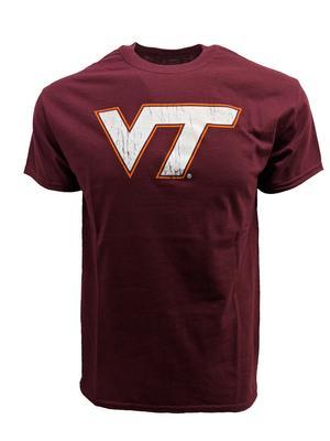 Virginia Tech Logo T-Shirt MAROON