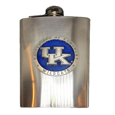 Kentucky Flask Blue Emblem