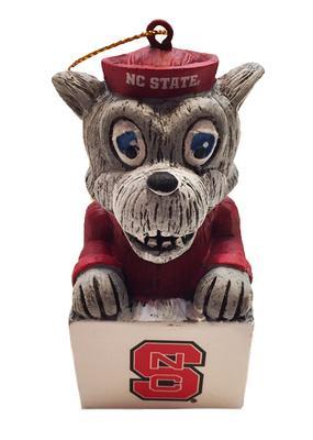 NC State Team Mascot Tiki Ornament
