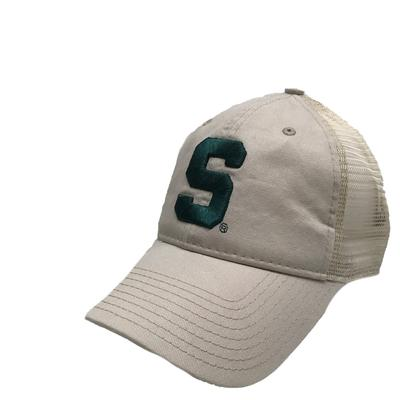 Michigan State Unstructured Logo Trucker Hat