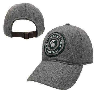 Michigan State Adjustable Wool Cap