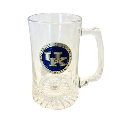 Kentucky Heritage Pewter Super Stein Glass