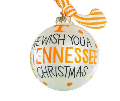 Tennessee We Wish You Ornament