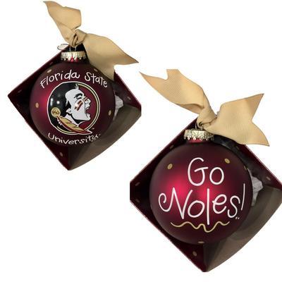 Florida State Go Noles Ornament