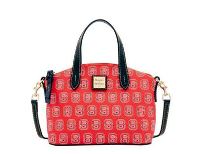 NC State Dooney & Bourke Ruby Purse