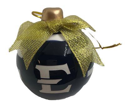 ETSU Ceramic 3D Bulb Ornament