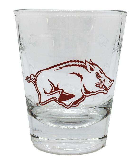 Arkansas 2oz Collectible Gameday Shot Glass