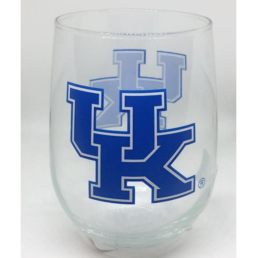 Kentucky 16 Oz.Stemless Wine Glass