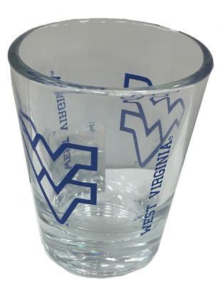 West Virginia 2oz Collectible Gameday Shot Glass