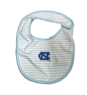 UNC Infant Striped Bib