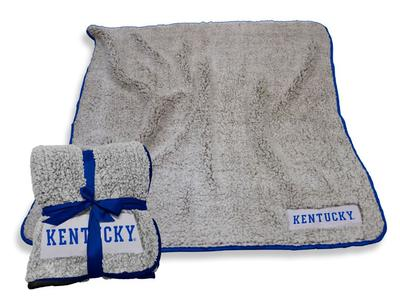 Kentucky Logo Chair Frosty Fleece Blanket