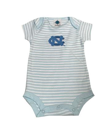 UNC Infant Striped Bodysuit
