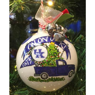 Kentucky Magnolia Lane Truck Ornament