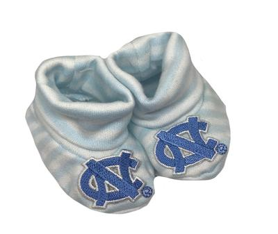 UNC Striped Booties