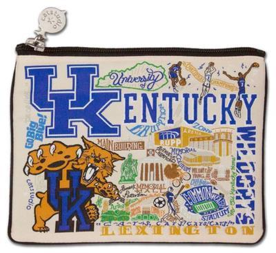 Kentucky Catstudio Woven Pouch