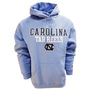 Unc Straight Hooded Pullover
