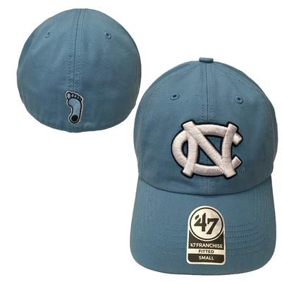 UNC Franchise Fitted Cap