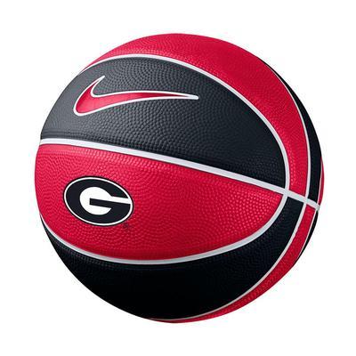 Georgia Nike Mini Rubber Basketball