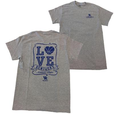 Kentucky Heart Basketball Tee