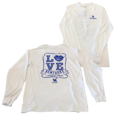 Kentucky Heart Basketball Long Sleeve Tee