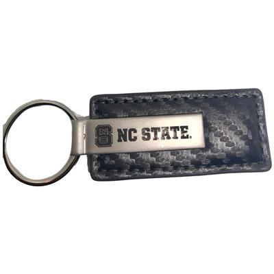 Nc State Carbon Fiber Key Tag