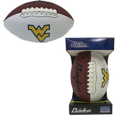 West Virginia Official Size Autograph Football