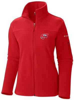 Western Kentucky Columbia Give And Go Full Zip Jacket
