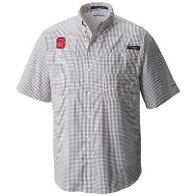 NC State Columbia Super Tamiami Short Sleeve Shirt