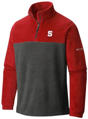 NC State Columbia Flanker 1/4 Zip Pullover