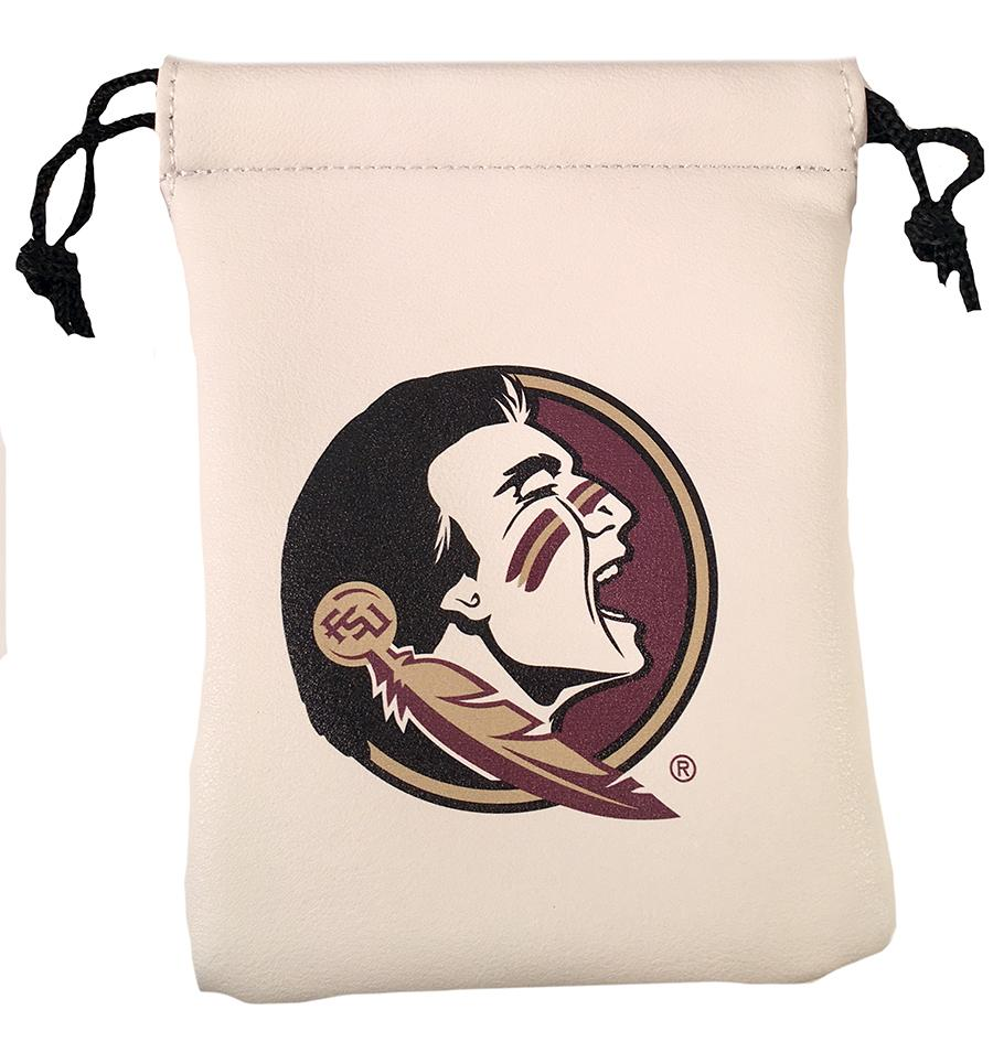 Florida State Faux Leather Pouch