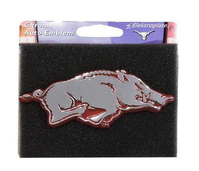 Arkansas Razorback Chrome Emblem
