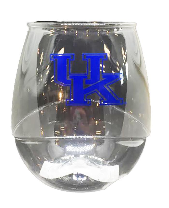 Kentucky Plastic 16oz Stemless Wine Glass