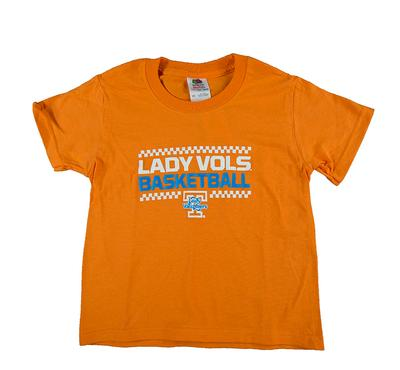 Tennessee Youth Lady Vols Checkerboard Basketball Tee