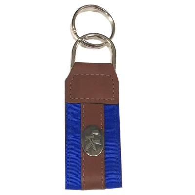Kentucky Leather Logo Key Chain