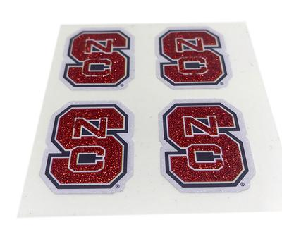 NC State Block S Facecal (4 Pack)