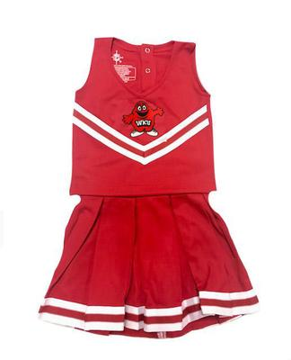 Western Kentucky Toddler Cheerleader Dress
