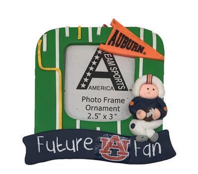 Auburn Future Fan Picture Frame Ornament