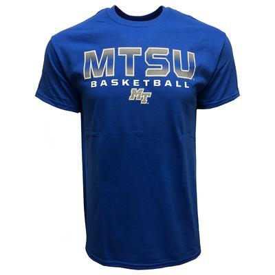 MTSU Basketball Bold Logo Tee