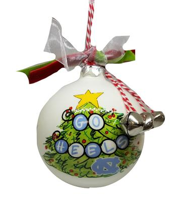 UNC Magnolia Lane Go Heels Ornament