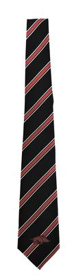Arkansas Thick Stripe Woven Plaid Tie