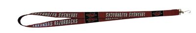 Arkansas Gameday Lanyard