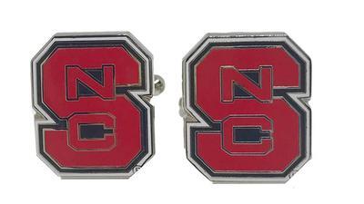NC State Cuff Links