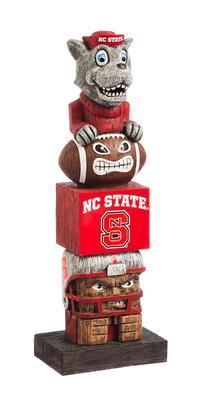 NC State Tiki Totem Statue