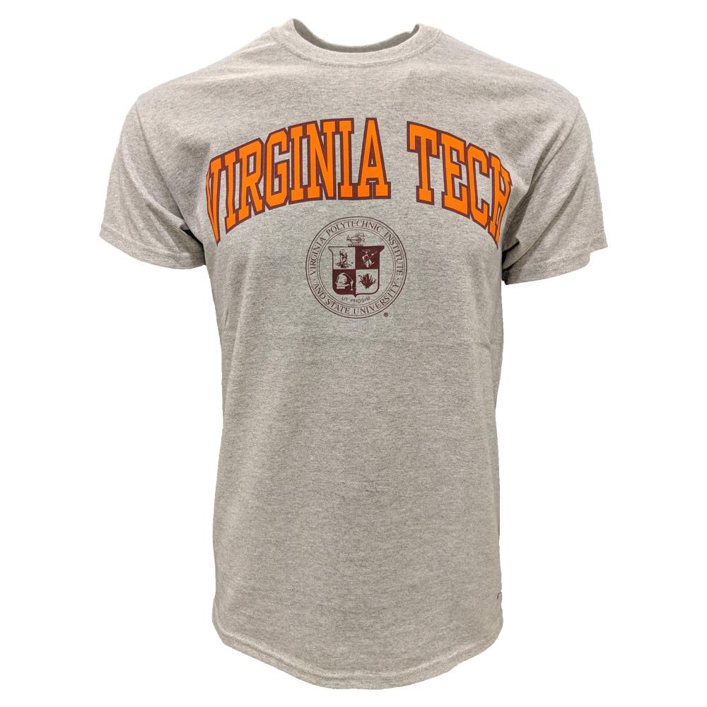 Virginia Tech Arch College Seal T- Shirt