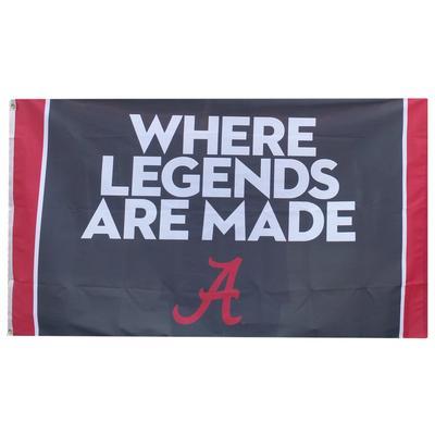 Alabama Legends House Flag 3' x 5'
