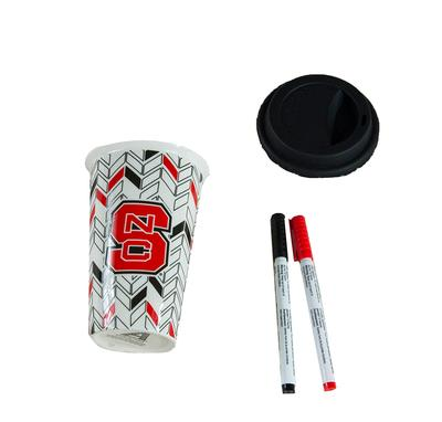 NC State Evergreen 10oz Double Wall