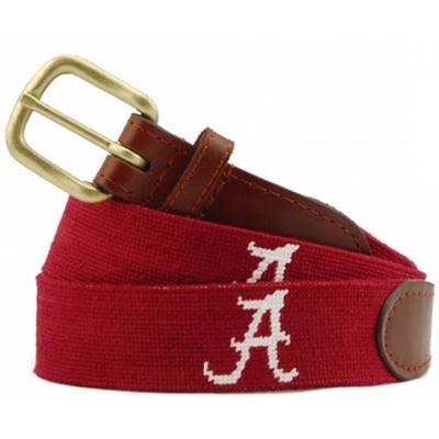 Alabama Smathers And Branson Needlepoint Belt