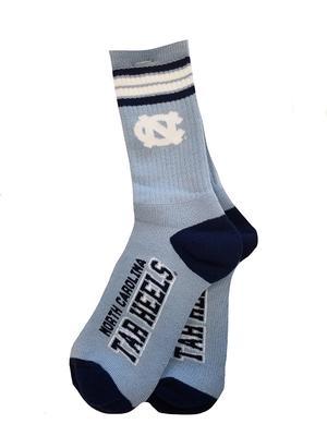 UNC Four Stripe Deuce Socks